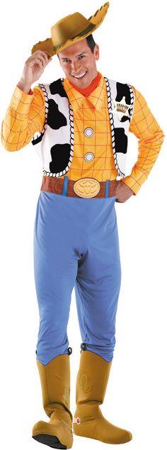 men's costume: woody deluxe | large