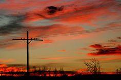 Marathon West Texas sunset