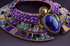 Ascension Egyptian Collar Necklace SIZE S от LuxVivensFashion