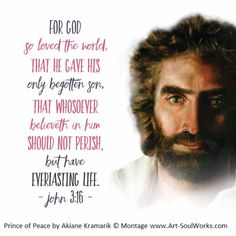 Jesus shed his blood for all mankind. God gave his one and only son. He Loved us that much.