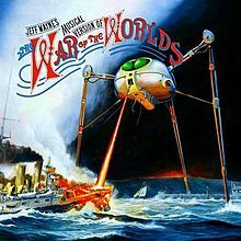 Jeff Wayne's Musical Version of The War of the Worlds is a 1978 concept album by Jeff Wayne, retelling the story of The War of the Worlds by H. Lp Cover, Cover Art, Hajime No Ippo Wallpaper, Justin Hayward, Classic Album Covers, Moody Blues, Progressive Rock, Best Albums, Top Albums