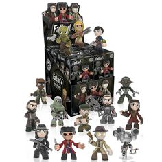 These are the Funko Fallout 4 Mystery Minis Blind Box Vinyl Figures. Please remember the each quantity ordered is for 1 randomly assorted figure. It's neat to see that Fallout 4 characters got their v
