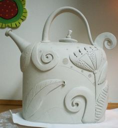 teapot by Barbara Chadwick  http://chadwickdesign.blogspot.com/2011/02/what-have-i-been-doing.html