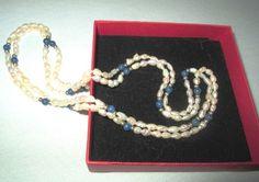 * * * Perlenkette Biber-Perle und Lapislazuli * * * | eBay Bracelets, Ebay, Jewelry, Fashion, String Of Pearls, Fashion Jewelry, Watches, Moda, Jewlery