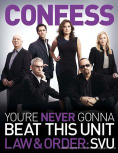 Law & Order: Special Victims Unit....AHHH, SO excited season 15 starts tonight!!!