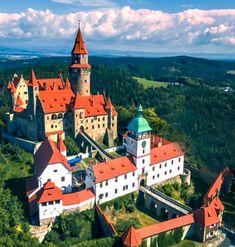 Bouzov castle, Czechia