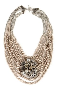 dress it up with #pearls #necklace #fashion #style #accessories