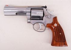 """S&W 686 4"""" .357 mag  """"I traded off a Model 19 Arizona HP. Wife qualified easily with it for CC."""""""