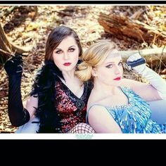 Models Alex and Natalie-Makeup and hair by Micaela; photo by McCall Doyle Photography