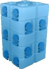 10 Pack of WaterBrick Standard 3.5 Gallon - blue from Prepping America.net
