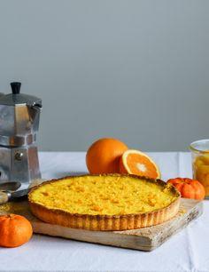 orange tart – Stuck in the kitchen