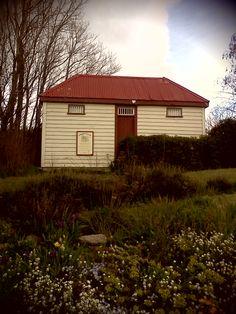 Original restored gaol in Ophir, Central Otago, New Zealand http://www.centralotagonz.com/ophir