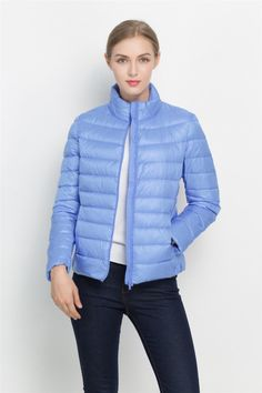 Jackets & Coats - Ladies Standard Ultra Light Down Jacket - Blue - for sale in Cape Town Pink Peacock, Downlights, Cape Town, Style Guides, Coats For Women, Style Icons, Winter Jackets, Lady, Womens Fashion
