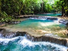 Waterfalls in Thailand
