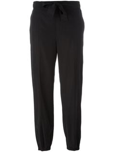 BLUMARINE gathered ankle trousers. #blumarine #cloth #trousers
