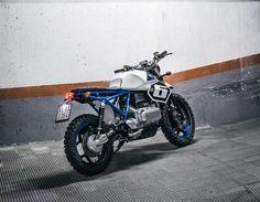 BMW K75 Scrambler by The FoundryMC. Una moto de escándalo que se convierte en una de las mejores K75 Scrambler del mundo. Descúbrela.