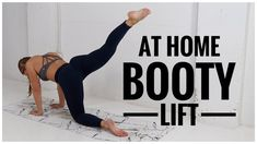 Looking to work your glutes, but don't have equipment available? Check out these trainer-led butt workout videos that are entirely bodyweight. Home Exercise Program, Home Exercise Routines, At Home Workout Plan, Workout Programs, At Home Workouts, Workout Plans, Workout Challenge, Daily Workouts, Workout Routines