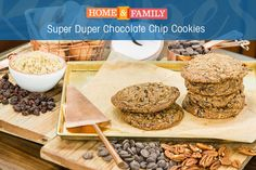 By super duper, we mean really, really good! These are by far, our favorite chocolate chip cookies. Recipe by @cristinacooks on Home and Family!