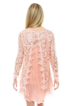 Lace Chiffon Dress.