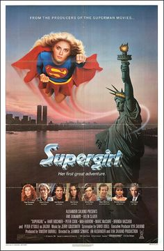 Supergirl (1984) starring Faye Dunaway, Helen Slater & Peter O'Toole