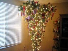 Yes, I do like the Upside Down Christmas Tree. Turns out it is the original traditional way to display it... and its a space saver!!