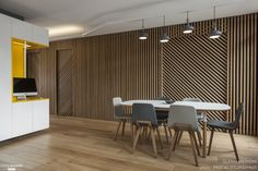 This Rethinking Parisian Apartment was designed by Glenn Medioni in for a father and his son. The floor area of the apartment is 73 m² ft²). Zeitgenössisches Apartment, Apartment Renovation, Studio Apartment, Small Apartment Design, Small Apartments, Contemporary Apartment, Contemporary Interior, Interior Walls, Interior Design