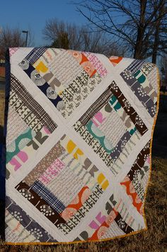 My Garden Trellis Quilt, pattern by Fresh Lemons DSC_0053 by natizzy, via Flickr
