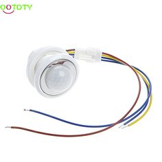 40mm LED PIR Detector Infrared Motion Sensor Switch with Time Delay Adjustable  828 Promotion  Price: 4.09 USD