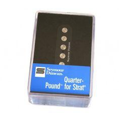 Captador Seymour Duncan Strat Quarter Pound Flat SSL-4 Blk (R$ 276,45)