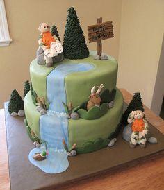 Hunting Cake by Sweet Maddie Lee Cake Design- Becky, via Flickr