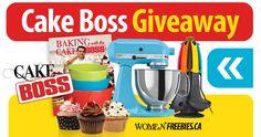Win a Cake Boss Prize Pack from WomenFreebies
