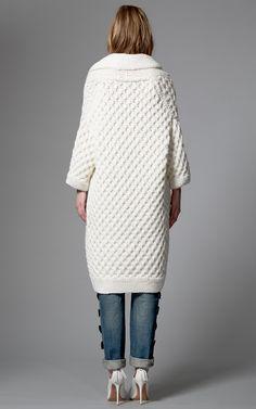 Kim Haller Sonya Cardigan In Ivory by Kim Haller for Preorder on Moda Operandi