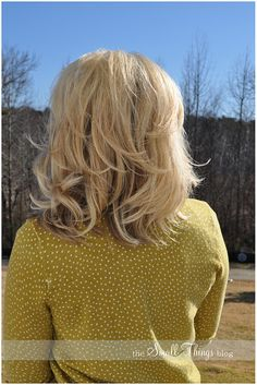 How to use hot hollers. Any hair tip I need, I always refer to The Small Things Blog!