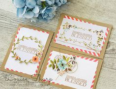 I totally ADORE the new Hello Lovely Project Life Card Collection Set. I have made quite a few cards from it in the recent past and it is ...