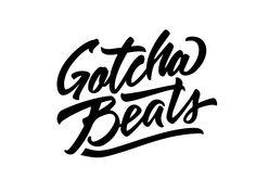 Gotcha Beats Beats, Logo Design, Arabic Calligraphy, Logos, Logo, Arabic Calligraphy Art
