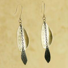 Cattail Earrings by Garden of Silver | Garden of Silver