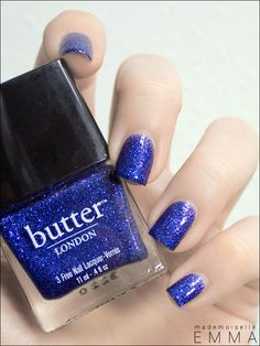 Butter London - Indigo Punk