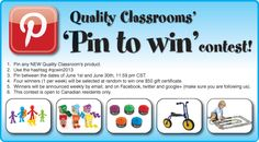 Pin to Win Contest...go for it!!