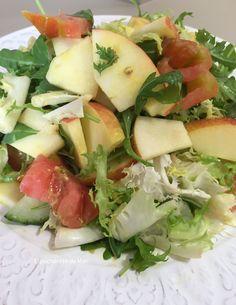 EL PUCHERETE DE MARI: 4 ENSALADAS para #Ponunaensalada en tu verano 2015 Cobb Salad, Salads, Food, Soup Bowls, Spinach, Juicing, Dishes, Cod, Smoker Cooking