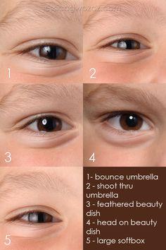 studio lighting | softbox vs umbrella vs beauty dish by photographer Jessica Gwozdz