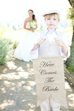 Items similar to Here Comes The Bride banner as seen in style me pretty! on Etsy Wedding Wishes, Wedding Signs, Diy Wedding, Wedding Ceremony, Wedding Photos, Dream Wedding, Wedding Day, Wedding Stuff, Wedding Bells