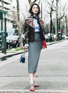 Non-Basic Pencil Skirts Your Closet Need