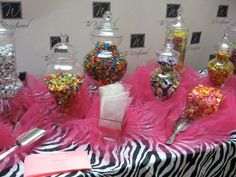 Here's a great station idea for any event here at The Westwood! A Candy Bar!