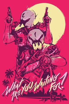 Hotline Miami 2 Posters on Behance Miami Hotline, Miami Wallpaper, Florida Holiday, Wrong Number, Videogames, Vaporwave, Ash, Poster, Game Art
