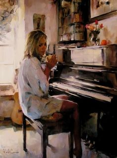 Michael and Inessa Garmash ~ Romantic Impressionists painters, an amazing painting