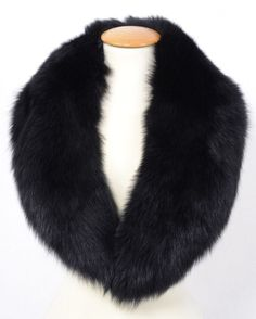 US474 Brand New Fur Fox Collar scarf Stole for Jacket no Mink Fuchskragen #Apanage #Stole