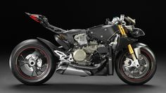 Ducati's Pangiale 1199 with its fairings removed