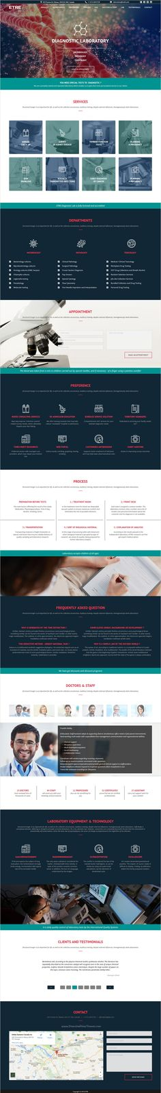 Etre is an universal premium #Muse #template for #medicine, #education, society, business agencies website download now➩ https://themeforest.net/item/etre-muse-template/17211548?ref=Datasata