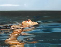 'Water' Realistic Paintings By Eric Zener – How to Disappear Completely | Designalmic