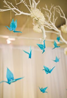 Paper Cranes: Ancient Japanese legend promises that anyone who folds 1,000 origami cranes will be granted one wish.